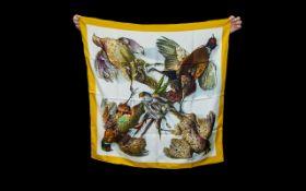 Hermes - Paris Vintage Silk Scarf. c.198
