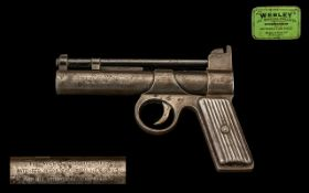 Webley & Scott Air Gun. The Webley Juni