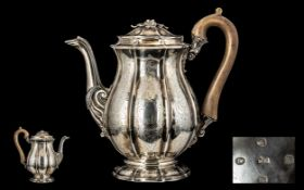 George IV Ornate Silver Construction From the Late Georgian Period. Hallmark London 1825, Maker W.