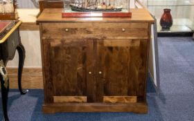 Gatsby Range Sideboard made from European birch with a dark stain and lacquered finish. Comprising