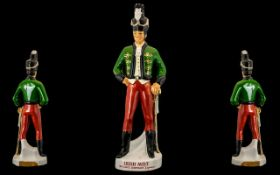 Irish Mist Back Bar Figure. multicoloured Irish Brigadier advertising figure, IRISH MIST/ IRELANDS