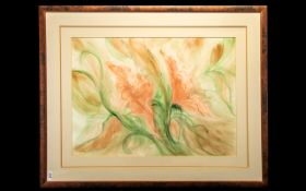 Original Signed Watercolour by Liverpool Artist Sandra Cooper. Signed to bottom right hand side of