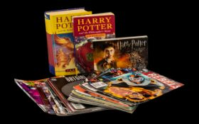 Collection of Harry Potter Books includi