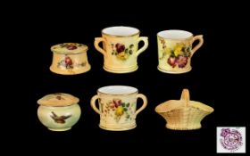 Royal Worcester - Hand Painted Collectio