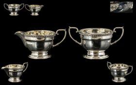 Art Deco Period Pleasing Sterling Silver