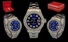 Rolex - Ladies Steel Oyster Just Date Pe