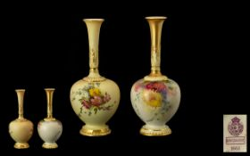 Royal Worcester Nice Quality Pair of Han