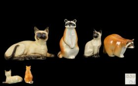 A Small Collection of Ceramic Animal Fig