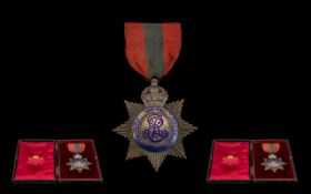 Edward VII - 1902 -1910 Imperial Service Order Medal awarded to George T Morrant,