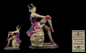 Kevin Francis Limited & Numbered Edition Hand Painted Ceramic Figurine. ''Marlene Dietrich''