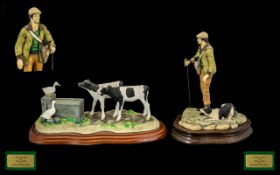 Border Fine Arts James Herriot Shaped Resources AO455. Signed Ray Ayres. 10 Inches - 25 cm wide +