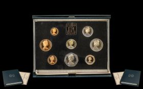 Royal Mint Proof Set 1983. United Kingdom Proof Coin Collection 1983, boxed and certificate,