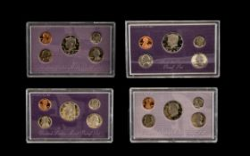Coin Proof Sets Of The United States. 4 sets in total 1987, 1990, 1991 and 1992, all 4 sets comes in