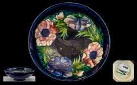 William Moorcroft Signed Footed Bowl of