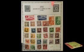 Old Abbey Stamp Album Containing Many Hu