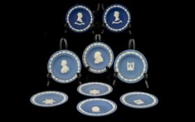 Wedgwood Pale Blue Assorted Round Trays.