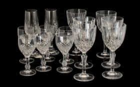 Collection of Crystal Glasses to include