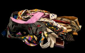 Collection of Vintage Ties, many pattern
