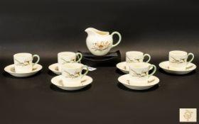 A Wedgwood Creamware Set of Coffee Canis