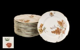 Collection of Vintage Haviland Plates by