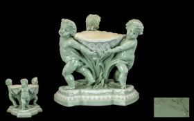 Minton - 19th Century Celadon Fine Quali
