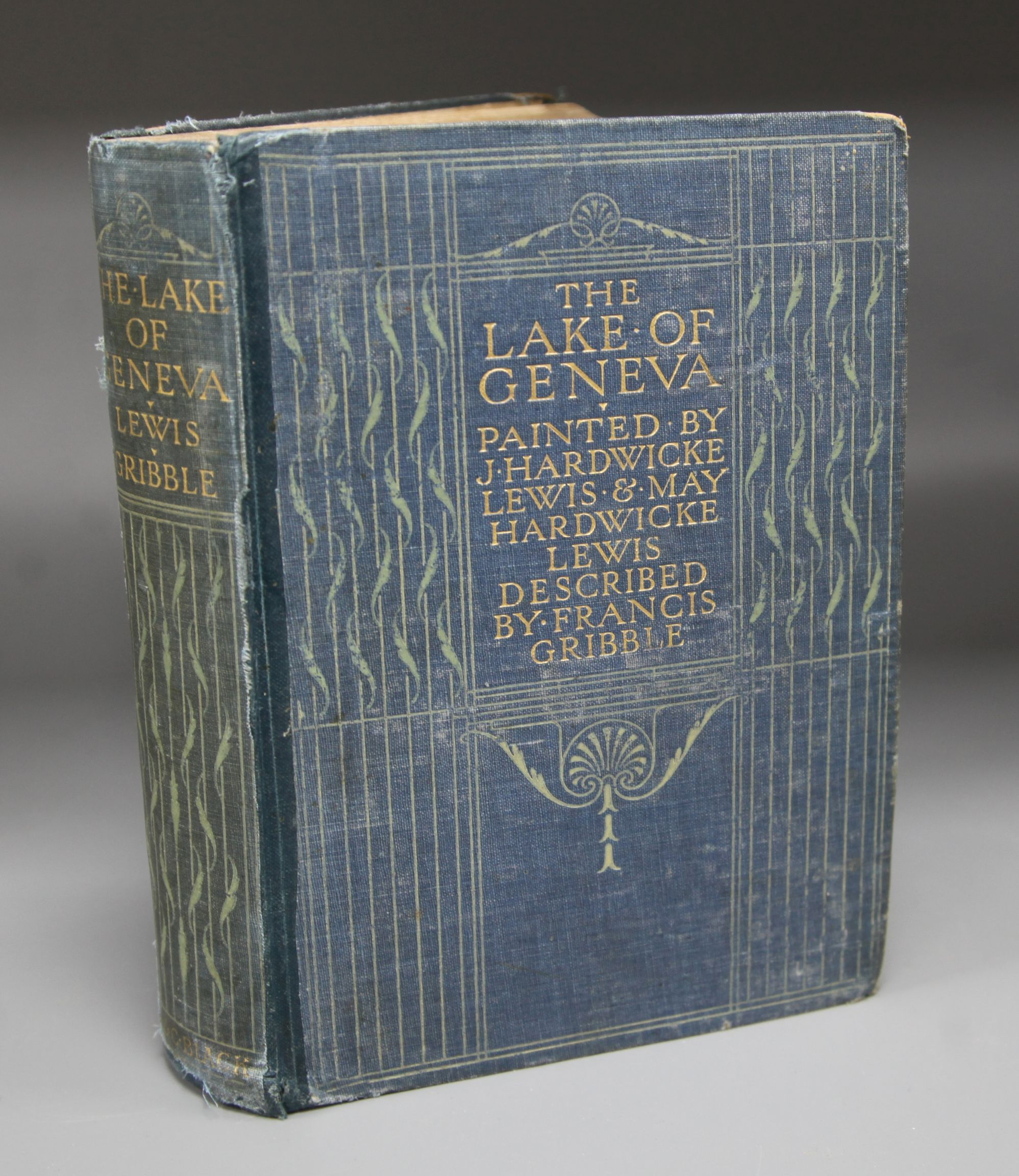 Lot 14 - Gribble, Francis - The Lake of Geneva, illustrated by J. Hardwicke Lewis and Mary Hardwicke,
