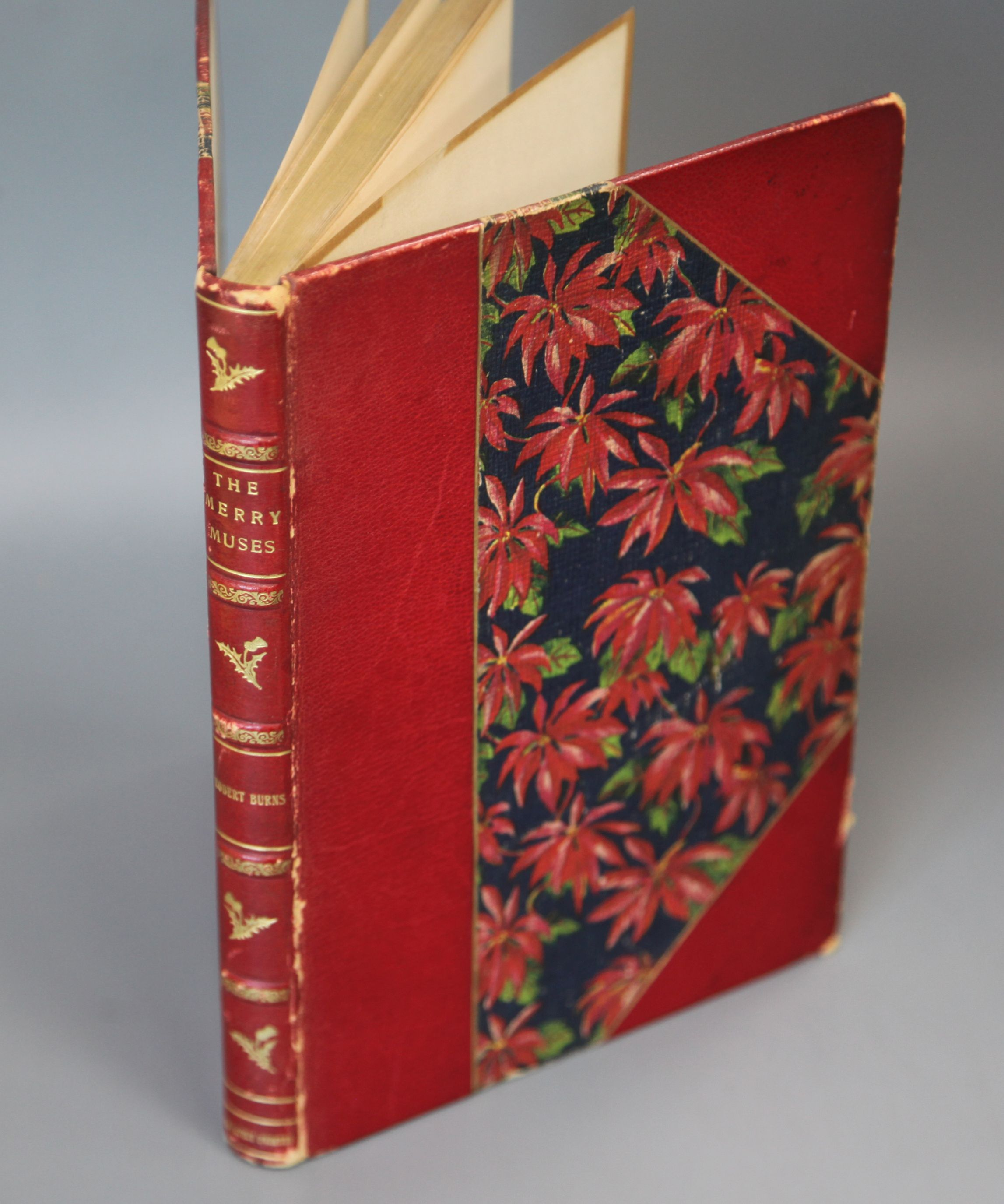 Lot 13 - Burns, Robert - The Merry Muses, a choice collection of favourite songs gathered from many