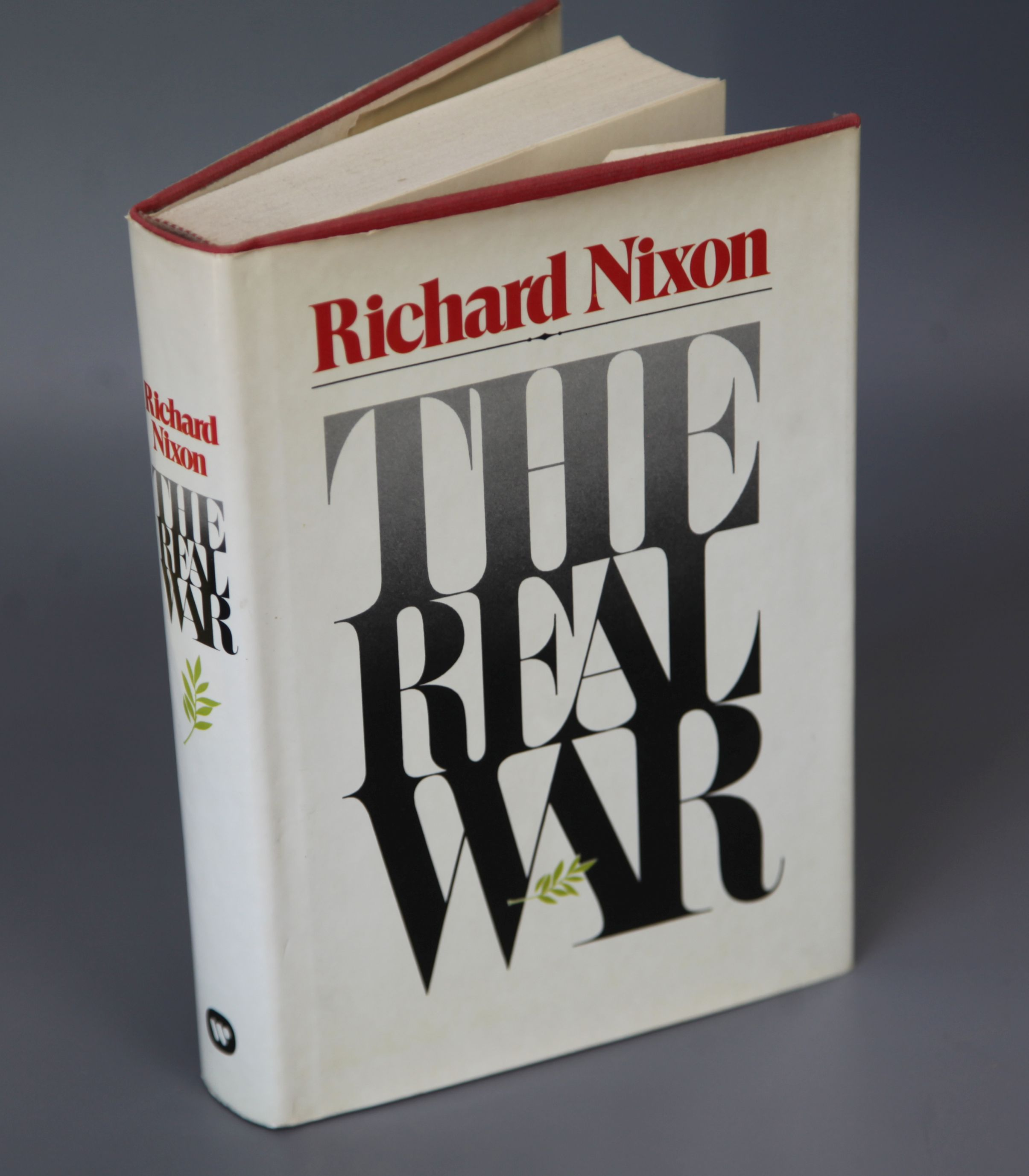 Lot 21 - Nixon, Richard M - The Real War, 1st edition, 8vo, in clipped d/j, inscribed to Sheila MacKellow 8th