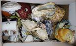 Lot 57 - A Copenhagen group and mixed ceramics