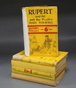 Lot 25 - Tourtell, Mary - Rupert Little Bear Library, numbers 14,21,28,36,38 and 40, 8vo, yellow boards, some