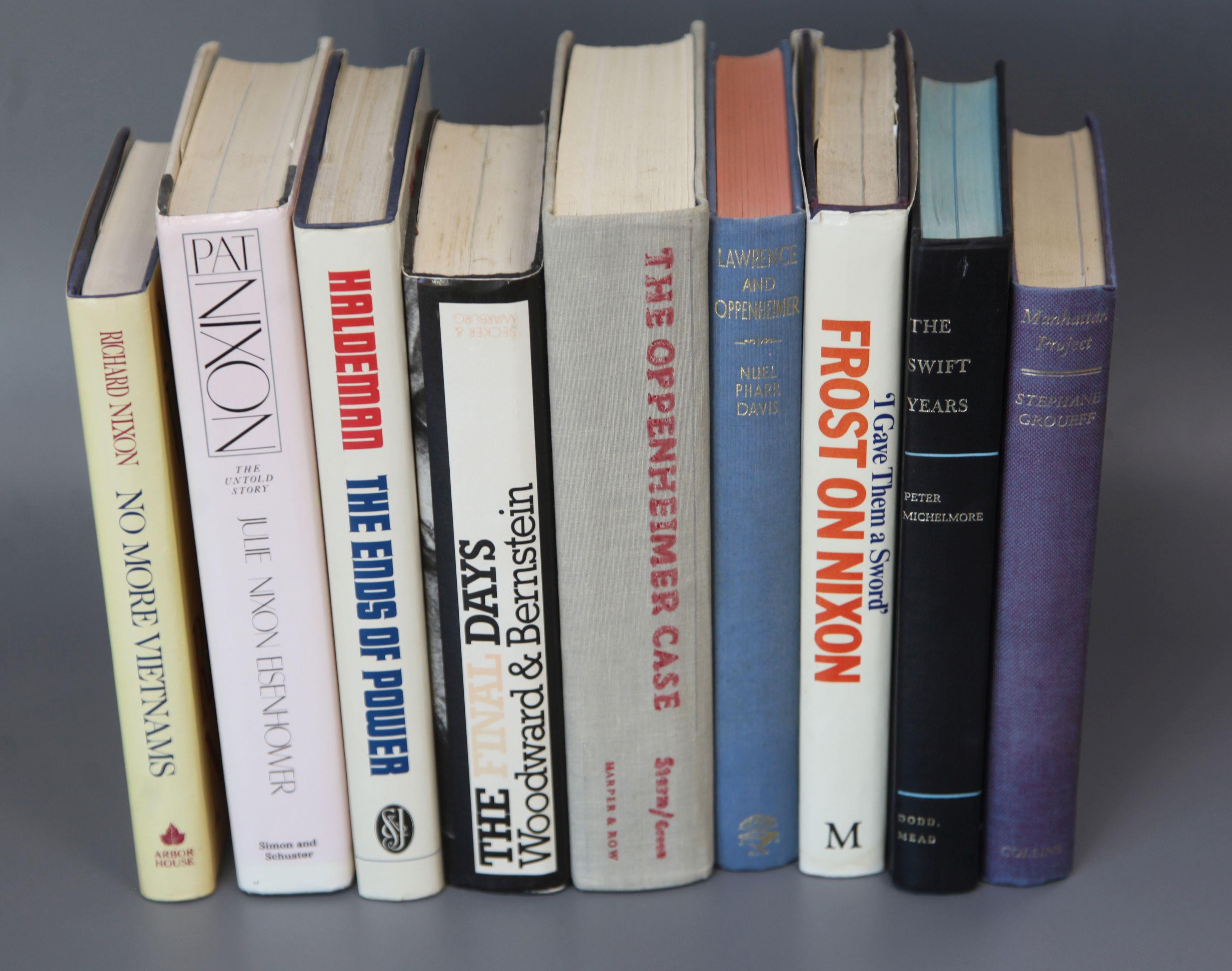 Lot 18 - Nixon, Richard M - No More Vietnams, New York, 1985 and 8 other volumes relating to Richard Nixon