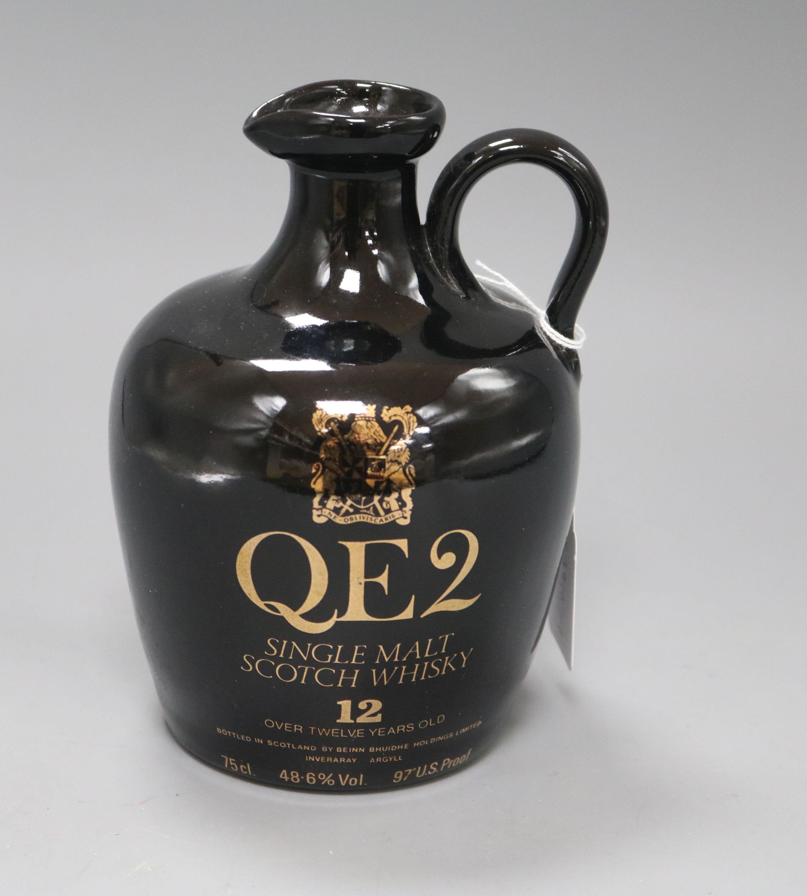 Lot 55 - A Queen Elizabeth II single malt scotch whisky 12yo, in presentation box