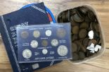 Lot 306 - A collection of coins