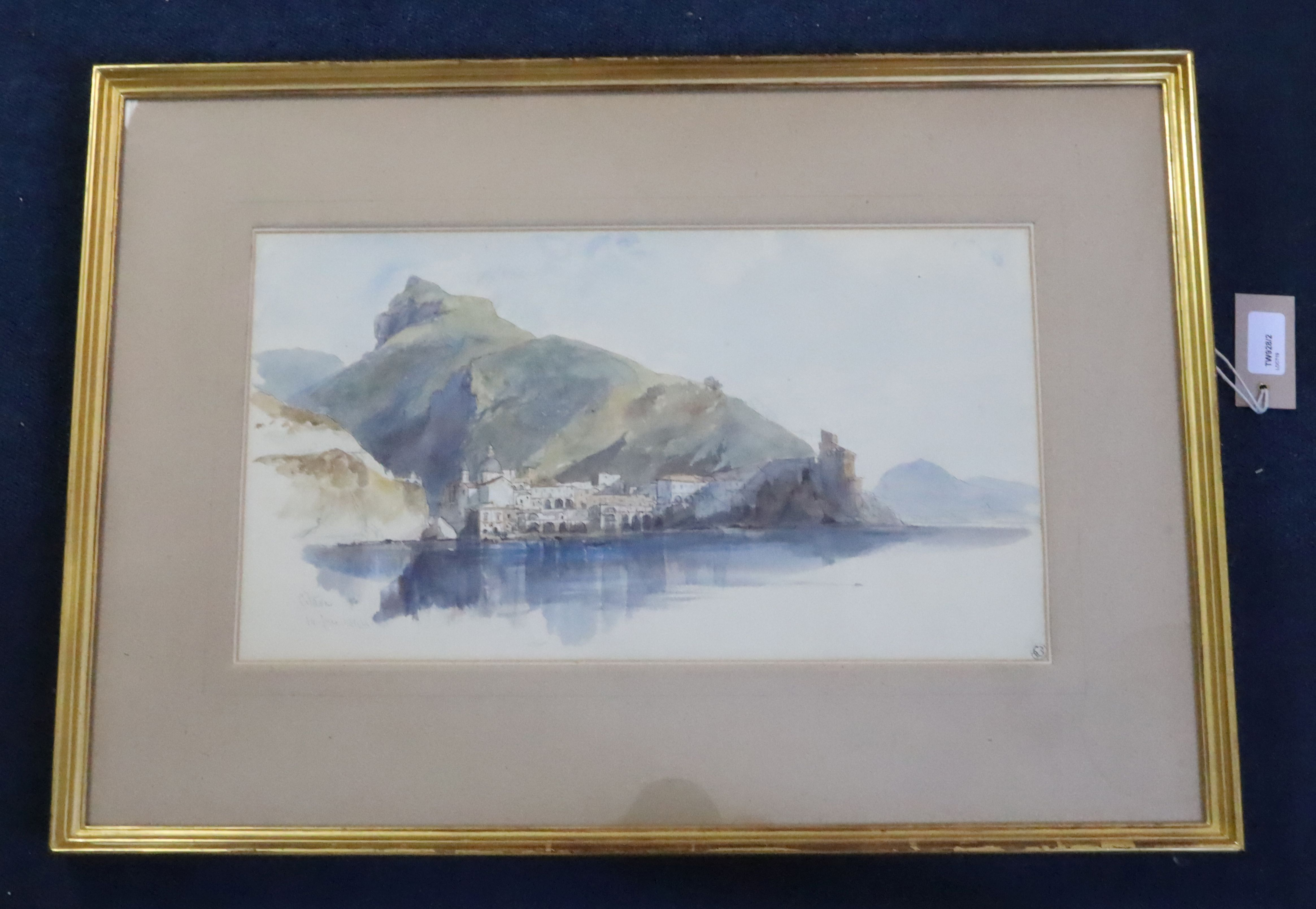 Lot 593 - Edward Lear (1812-1888)pen ink and wash over pencil'Citara 14th June 1844'inscribed and dated,