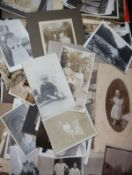 A collection of family photographs