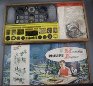 A 1960's Philips mechanical engineer boxed child's toy