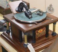 A Victrola Victor talking machine co. gramophone
