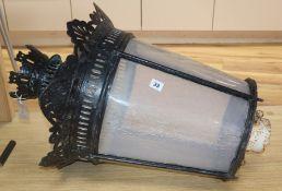 A Victorian street lantern
