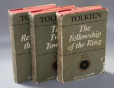 Tolkein, John Ronald Revel - The Lord of the Rings:- The Fellowship of the Ring, The Two Towers and,