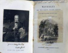 Scott, Sir Walter - Waverley Novels Centenary Edition, 22 of 25 vols, lacking vols 1,4 and 10,
