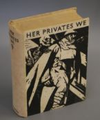 First World War Poetry and Prose. Manning, Frederic - Her Privates We, 8vo, original pictorial
