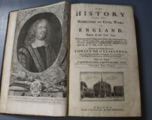 Clarendon, Edward Hyde, 1st Earl of - The HIstory of the Rebellion and Civil Wars in England, 3 vols