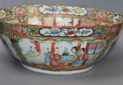 A Chinese Famille Rose bowl, diameter, 26.5cm.
