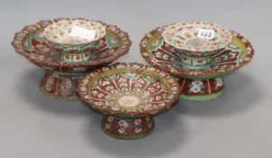 A group of Chinese Straits ceramic dishes, 19th century