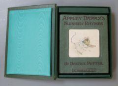 Potter, Beatrix - Appley Dappley's Nursery Rhymes, 1st edition, sextodecimo, 16mo, original