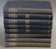 Jane's - Jane's All the World's Aircraft, 8 vols, qto, cloth, London 1940 - 1950