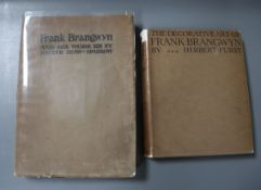 Furst, Herbert, Ernest, Augustus - The Decorative Art of Frank Brangwyn, 4to, cloth, with d.j., with