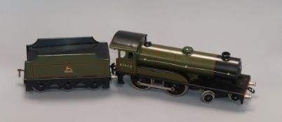 A boxed Bassett-Lowke Prince Charles locomotive and tender, o-gauge