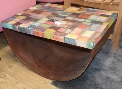 Debora Antonello, An Italian rocking coffee table, dated 2007 W.70cm
