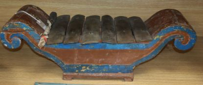 A small gamelan instrument from central Java